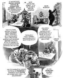 Jedna strana Ajznerove grafičke novele